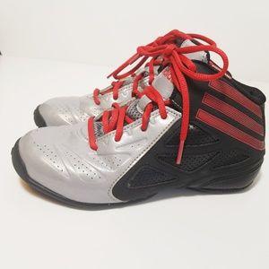 Adidas NXT LVL Spd 2.0 Basketball Gray/Black Sz 2